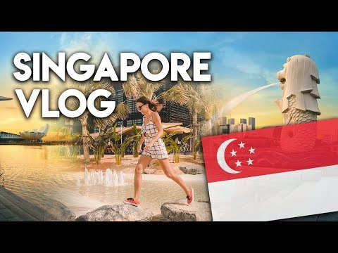 Travel to Singapore 2018. Local street food. Things to do in Singapore.