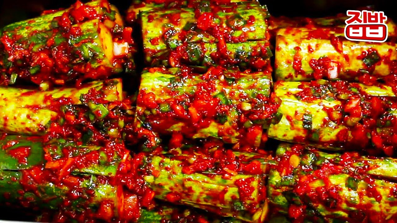 [집밥] 아닥아닥 시원한 오이소박이 맛있게 담그는 법 / 물러질 틈 없이 다 먹어버리는 쉽고 맛있는 방법