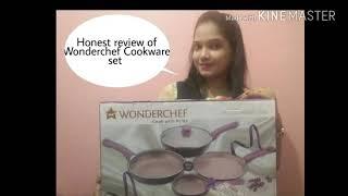 Honest review of Wonderchef Cookware set    Sanjeev Kapoor's brand    Flipkart Part- 5