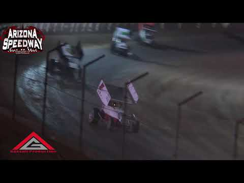 Az Speedway  2018 Copper Classic Night 2 ASCS Southwest Highlights