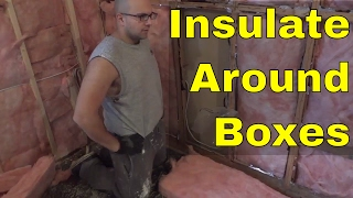 How To Insulate Around Electrical Boxes