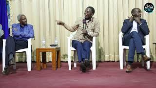 Pasteur Dr. Antoine RUTAYISIRE asubiza ibibazo nk' ibyo Ambassador Dr. Charles MURIGANDE Yasubije
