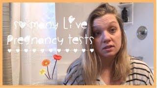 SO MANY LIVE PREGNANCY TEST || 11 dpo - 14 dpo || TTC with Femara