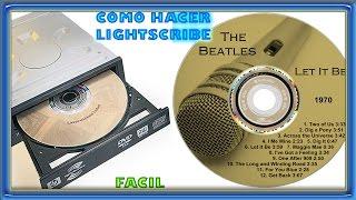 Como Grabar Lightscribe con Nero   Como Grabar CD o DVD con Lightscribe   Tutorial Bien Explicado