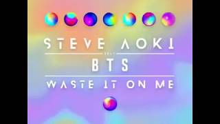 Waste it on me - Steve Aoki feat. BTS (Cheat code remix) teaser