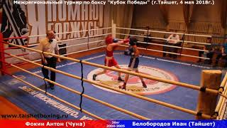 Фокин Антон (Чуна) — Белобородов Иван (Тайшет)