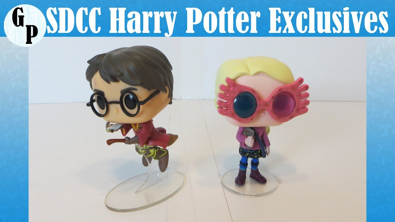 2e354244bd6 SDCC Exclusive Harry Potter   Luna Lovegood Funko Pops - Summer Convention  2017