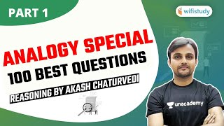 10 PM - SSC CHSL/MTS/RAILWAY/UPSI Exams | Reasoning by Akash Chaturvedi | Analogy Special (Part-1)