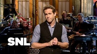 Ryan Reynolds Monologue: Action vs Romantic Comedy - Saturday Night Live