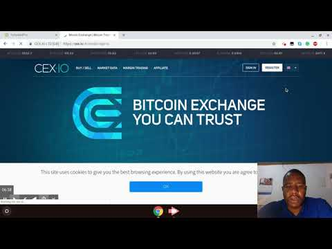 How To Withdraw And Trade On CEX.IO CryptoCurrency Exchange