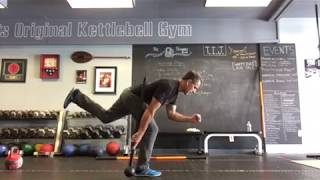 Single leg deadlift progression