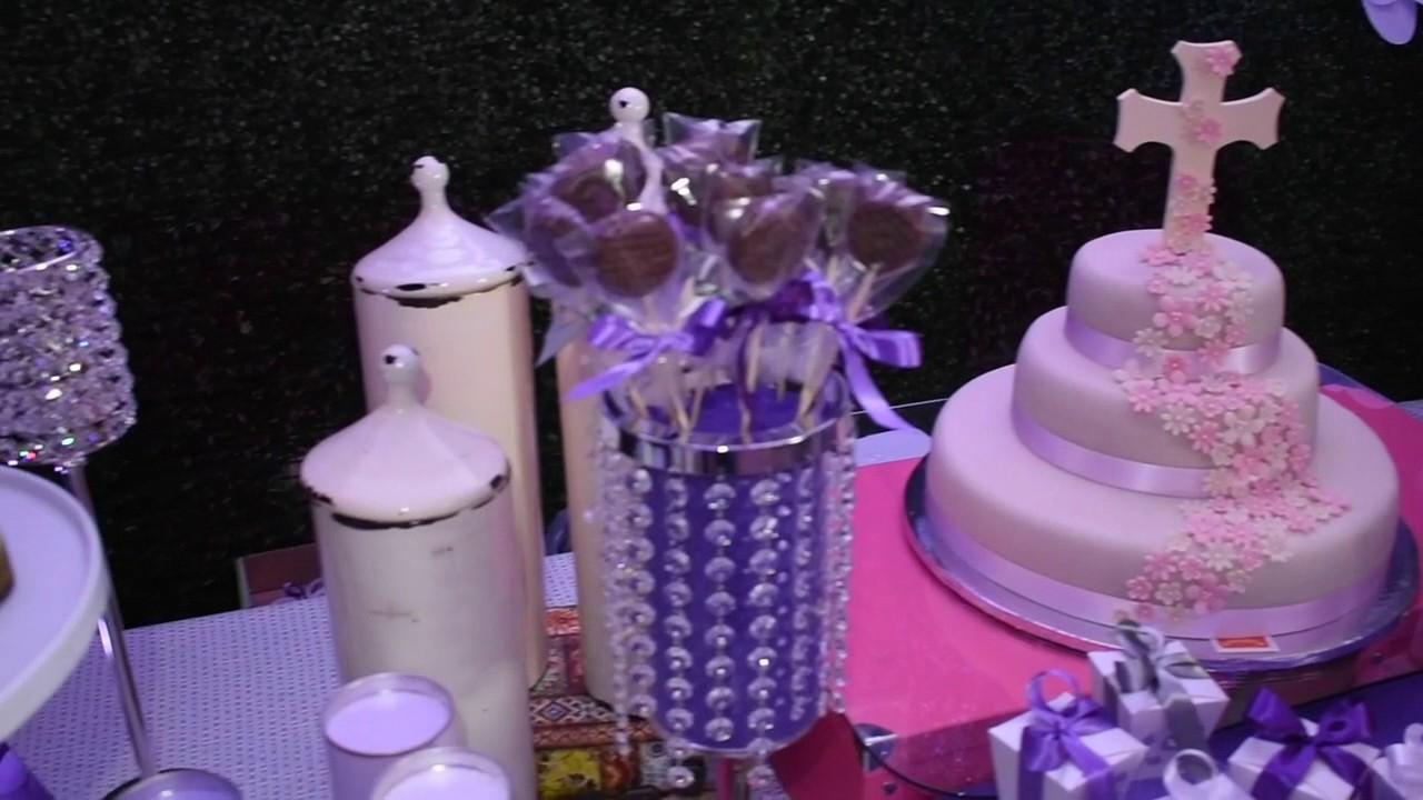 mesa de dulces para bautizo youtube