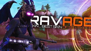 MEILLEURE PEAU DE LA SAISON 5 'RAVAGE SKIN' - EP78 Fortnite : Battle Royale (PS4 Pro)