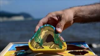 Мультфильм собираем Пазл Морская пещера Nicolya. Пазлы малышам. Пазлы для детей 3 лет