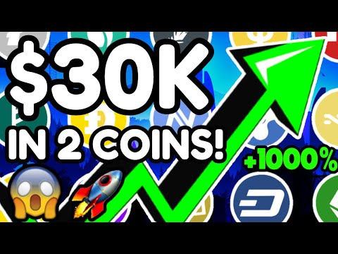 2 ALTCOINS ABOUT TO EXPLODE - JUST PUT $30K IN THESE 2 COINS - BEST ALTCOINS TO BUY NOW!