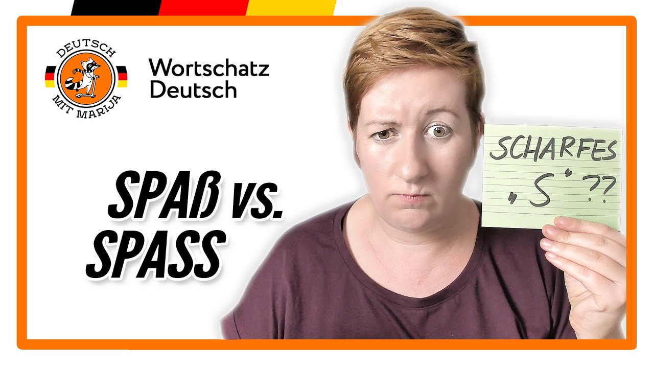 Download Spaß oder Spass?? SS vs. ß   Rechtschreibung   Deutsch mit Marija