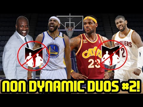 NON DYNAMIC DUOS #2! SHAQ JAVALE BEEF & KYRIE LEBRON! NBA 2K17 MYTEAM
