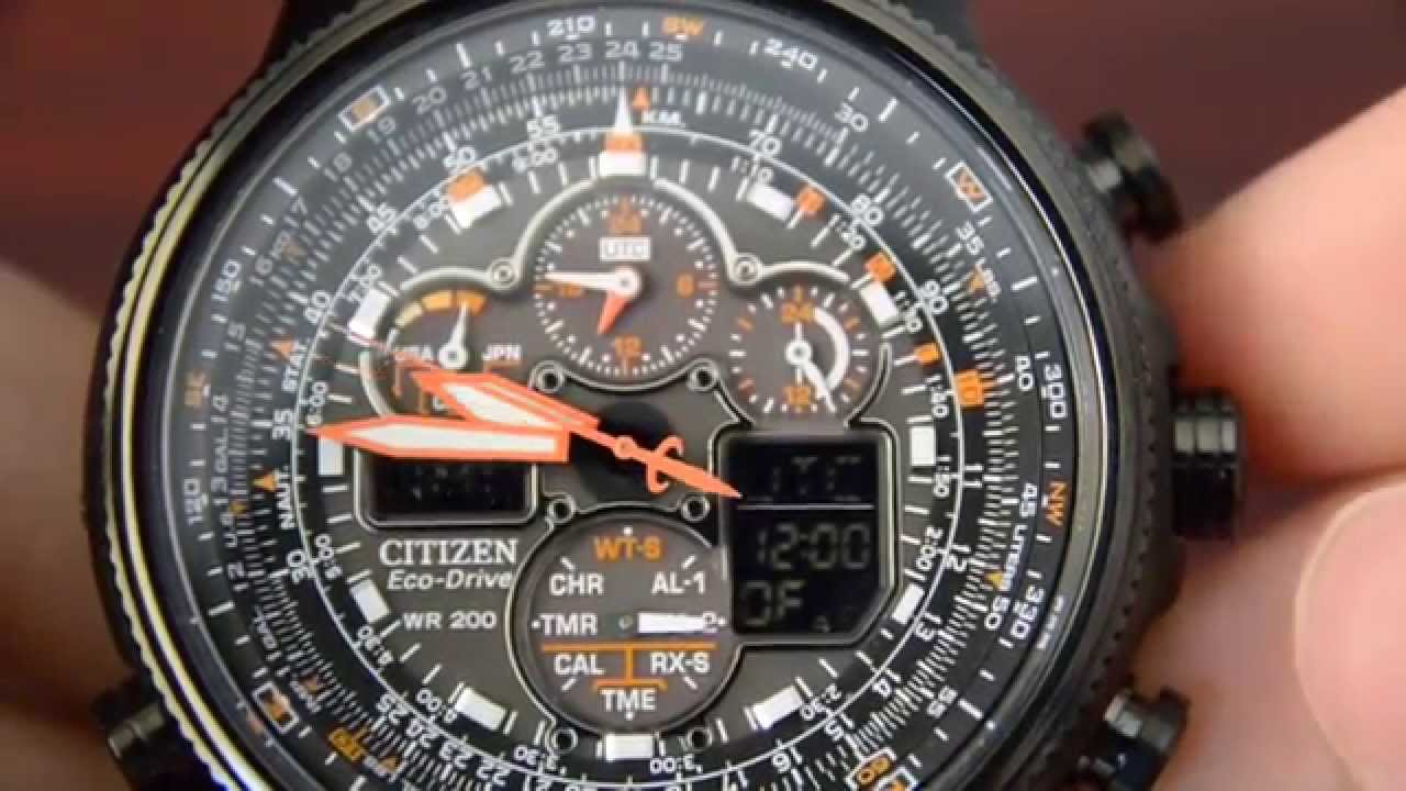 10e5153b9f3 Citizen Navihawk JY8035-04E Review - YouTube