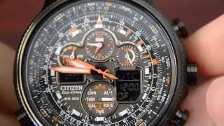 Citizen Navihawk JY8035-04E Review