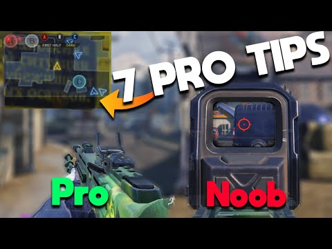 7 Things Professionals Do That You Don't In COD Mobile! ( Tips And Tricks )