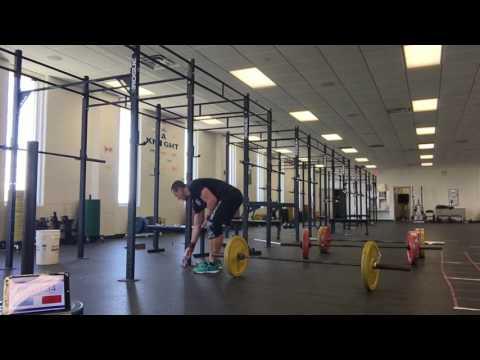 Crossfit open 17.3 Tyler Hansen