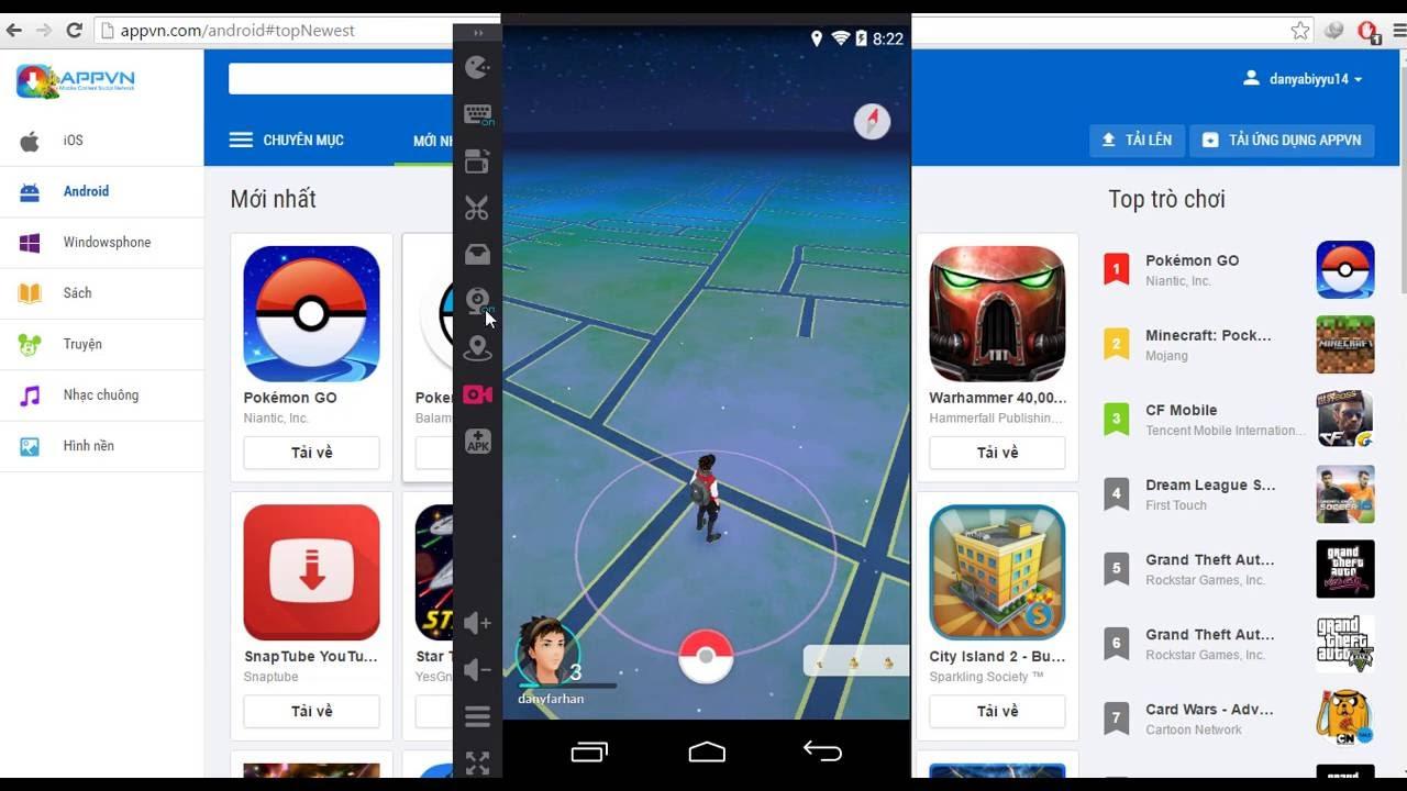 cara bermain pokemon go di pc menggunakan KOPLAYER - YouTube