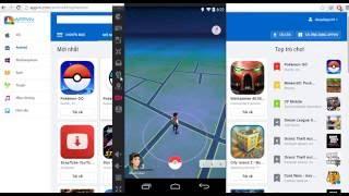 cara bermain pokemon go di pc menggunakan KOPLAYER