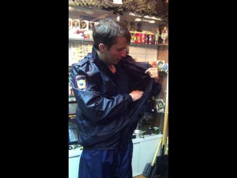 Новая форма полиции, обзор: куртка ветровка для полиции