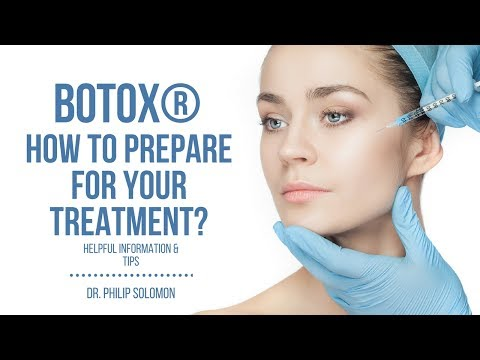 How To Prepare for Your BOTOX® Treatment | Dr. Philip Solomon