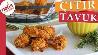 Fırında Çıtır Tavuk Tarifi - Nefis Yemek Tarifleri