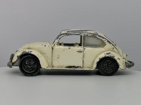 Matchbox Series No 15 Volkswagon 1500 Saloon (1968 WV Beetle) - Custom Video