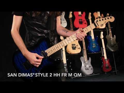 NEW Charvel Pro-Mod San Dimas Style 2's