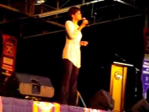 Jaclyn Victor - Wajah @ Konvo UPSI Ke-11, 10 Ogos 2009