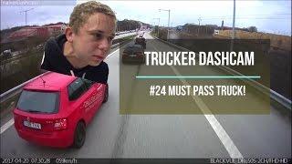 Trucker Dashcam #24 Must pass truck!