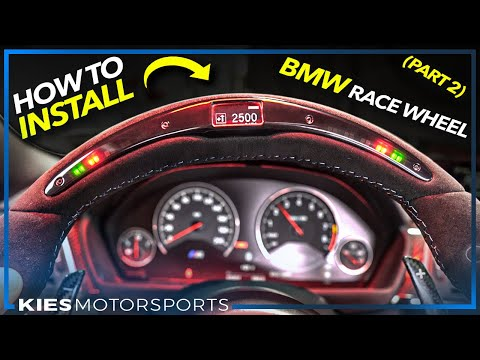 Part 2: How to install the BMW OEM Genuine RACE DISPLAY WHEEL in the F3x, F2x or F8x