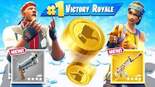 COIN FLIP Challenge *NEW* Game Mode in Fortnite Battle Royale