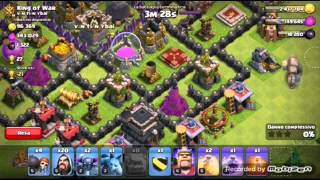 Clash of clans:TH9 GIÙ!!!