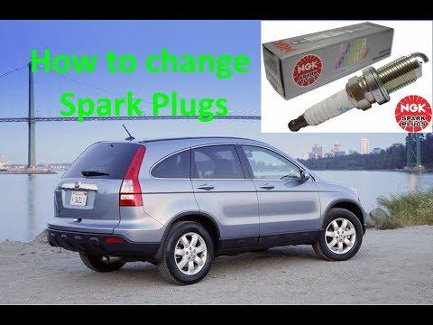 Change Spark Plugs on a Honda CRV, Element
