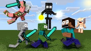 Monster School: KILL STEVE - NEW STORY - Minecraft Animation