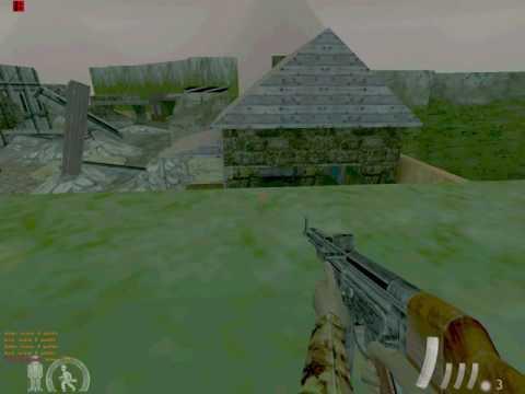 Half-Life mod - Day of Defeat Beta 1.3 ( june 2001)battle@dod_romel with Sturmbot 1.1