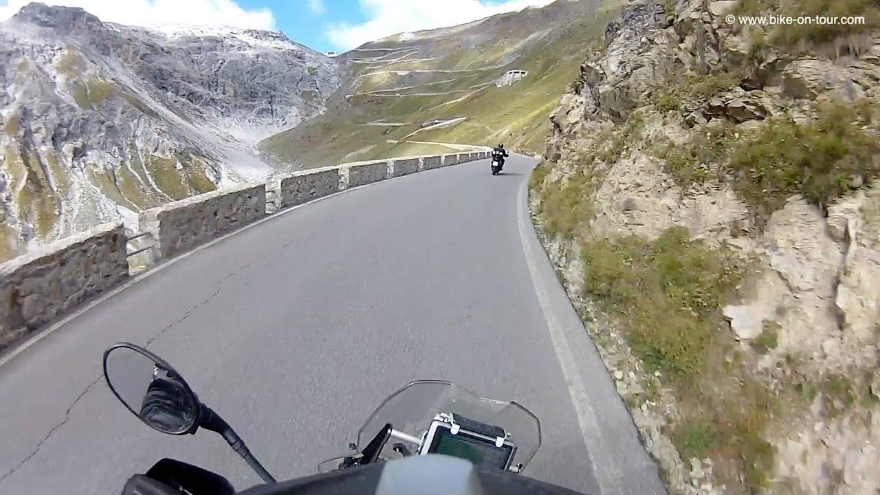 Motorrad video stilfser joch webcam