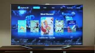 Samsung Smart TV Explore 3D App Hands-On With HotHardware's David Altavilla