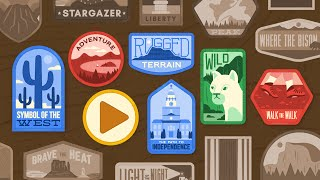Google Doodle Celebrating U.S. National Parks by : googledoodles