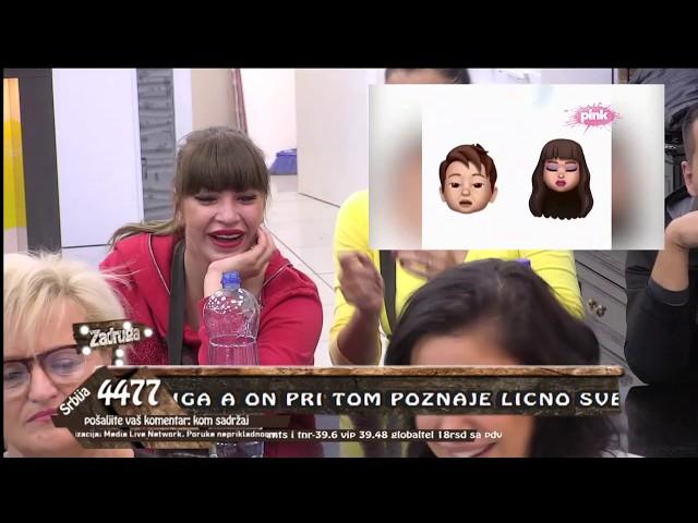 Zadruga 3 - Zadrugari gledaju smešne klipove - 18.10.2019.