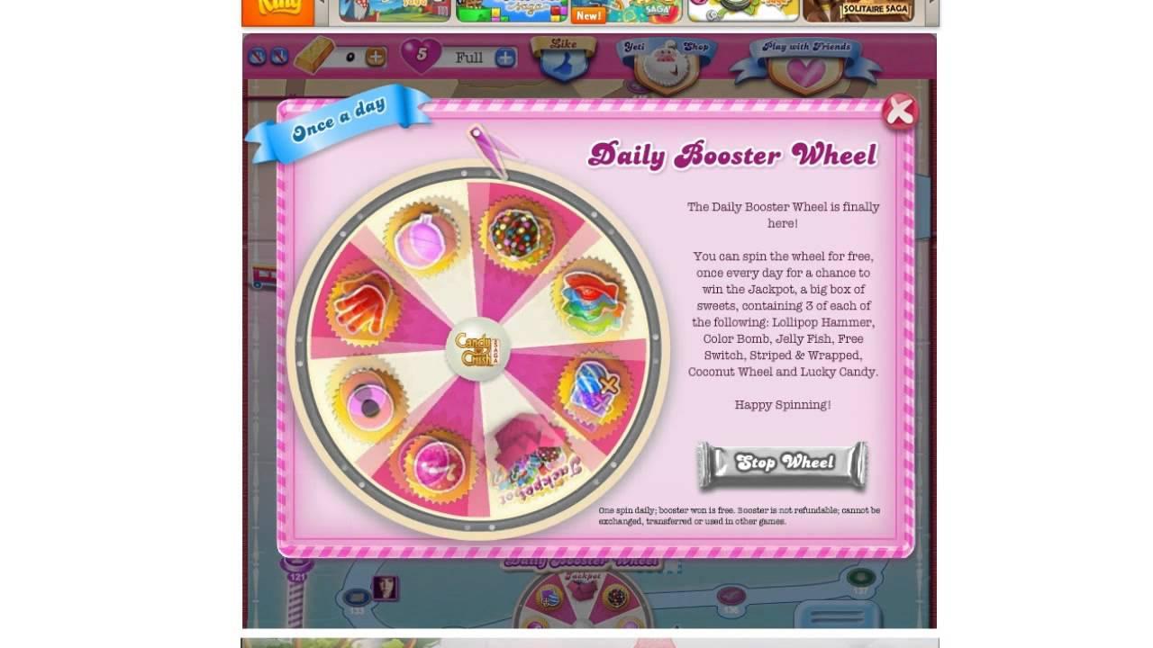 Candy Crush Booster Weg