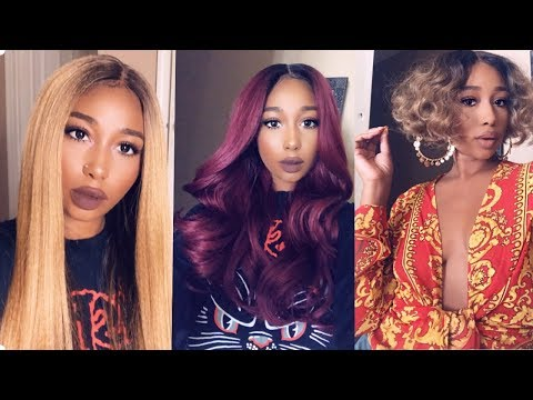 Affordable Synthetic Wig Lookbook Ft Janet Collection