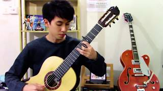 Melodies of Life (Final Fantasy IX) Classical Guitar Solo - Shimobe