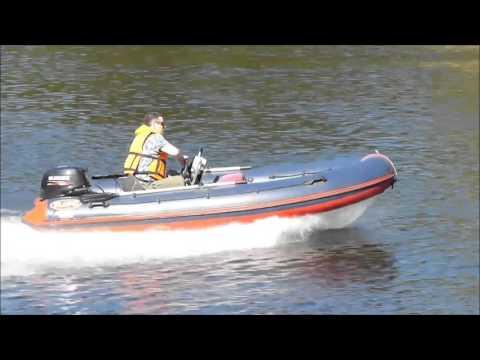 риб Flinc 390R в Ладожских Шхерах