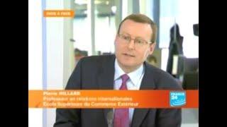 Pierre Hillard sur France 24 - Des renforts pour l'Afghanistan ? (2008)