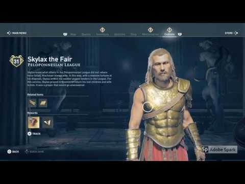 Cultist Clue Location Lokris Fort In Lokris Assassin S Creed Odyssey Youtube